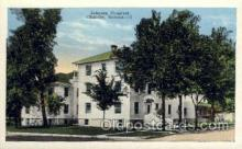 med100050 - Johnson Hospital, Chanute, Kansas, USA, Medical Hospital Postcard Postcards