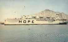 med100053 - S.S. Hope, US Military Medical Ship, Medical Hospital Postcard Postcards