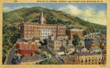 med100059 - Ohio Valley General Hospital and Nurse Home, Wheeling, West Virginia WV USA, Medical Hospital Postcard Postcards