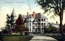 med100066 - State Hospital, Ogdensburg, New York, NY, USA, Medical Hospital Postcard Postcards