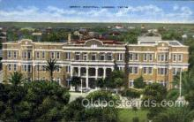 med100068 - Mercy Hospital, Laredo, Texas, USA, Medical Hospital Postcard Postcards