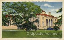 med100069 - Sayles Memorial Hospital, Pawtucket, Rhode Island, RI USA, Medical Hospital Postcard Postcards
