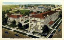 med100076 - Weltmer Sanitarium, Nevada,  Missouri USA, The Home of Permanent Healing Medical Hospital Postcard Postcards