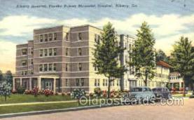 med100077 - Phoebe Putney Memorial Hospital, Albany, GA Medical Hospital, Sanitarium Postcard Postcards