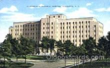 med100079 - Charlotte Memorial Hospital, Charlotte, NC Medical Hospital, Sanitarium Postcard Postcards