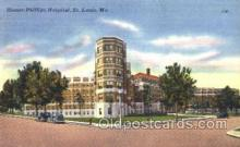 med100080 - Homer-Philips Hospital, St. Louis, MO Medical Hospital, Sanitarium Postcard Postcards