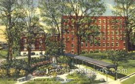 med100084 - Mercy Hospital School of Nursing, Charlotte, NC Medical Hospital, Sanitarium Postcard Postcards