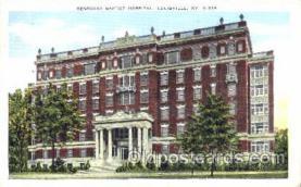 med100085 - Kentucky Baptist Hospital, Louisville, KY Medical Hospital, Sanitarium Postcard Postcards