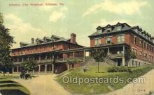 med100090 - Altoona City Hospital, Altoona, PA Medical Hospital, Sanitarium Postcard Postcards