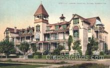 med100094 - St. Joseph's Hospital, Tacoma, WA Medical Hospital, Sanitarium Postcard Postcards