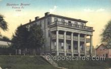 med100106 - Montefiore Hospital, Pittsburg, PA Medical Hospital, Sanitarium Postcard Postcards