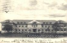 med100112 - Homeopathic Hosptal, Ann Arbor, MI Medical Hospital, Sanitarium Postcard Postcards