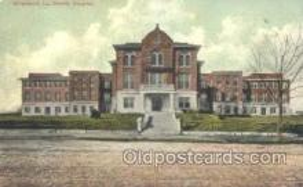 med100114 - Charity Hospital, Shreveport, LA Medical Hospital, Sanitarium Postcard Postcards