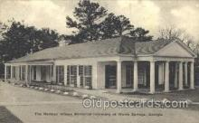 med100127 - Norman Wilson Memorial Infirmary, Warm Springs, GA Medical Hospital, Sanitarium Postcard Postcards
