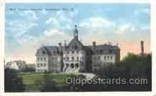 med100129 - Holy Family Hospital, Manitowoe, WI Medical Hospital, Sanitarium Postcard Postcards