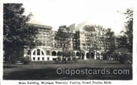 med100137 - Michigan Soldiers Home, Grand Rapids, MI Medical Hospital, Sanitarium Postcard Postcards