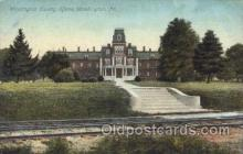 med100152 - Washington County Home, Washington, PA Medical Hospital, Sanitarium Postcard Postcards