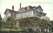 med100162 - Fanny Paddock Hospital, Tacoma, WA Medical Hospital, Sanitarium Postcard Postcards