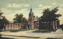 med100167 - Bridgeport Hospital, Bridgeport, CT Medical Hospital, Sanitarium Postcard Postcards