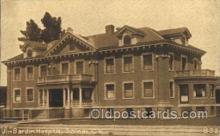 med100178 - Jim Bardin Hospital, Salinas, CA Medical Hospital, Sanitarium Postcard Postcards