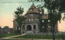 med100184 - Nathan Littauer Hospital, Gloversville, NY Medical Hospital, Sanitarium Postcard Postcards