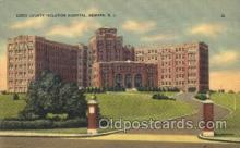 med100186 - Essex County Isolation Hospital, Newark, NJ Medical Hospital, Sanitarium Postcard Postcards