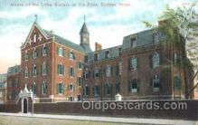 med100189 - Home of the Little Sisters of the Poor, Boston, MA Medical Hospital, Sanitarium Postcard Postcards