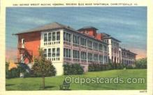 med100190 - Blue Ridge Sanatorium, Charlottesville, VA Medical Hospital, Sanitarium Postcard Postcards