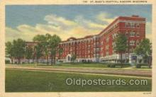 med100193 - St. Mary's Hospital, Madison, WI Medical Hospital, Sanitarium Postcard Postcards