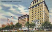 med100196 - Barnes Hospital Group, St. Louis, MO Medical Hospital, Sanitarium Postcard Postcards