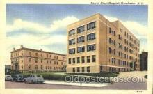 med100203 - Sacred Heart Hospital, Manchester, NH Medical Hospital, Sanitarium Postcard Postcards
