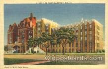 med100205 - Santa Fe Hospital, Topeka, KS Medical Hospital, Sanitarium Postcard Postcards