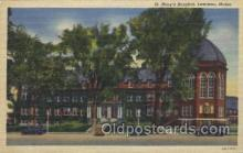 med100207 - St. Mary's Hospital, Lewison, ME Medical Hospital, Sanitarium Postcard Postcards
