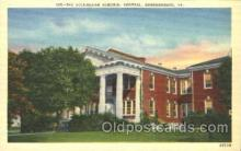 med100208 - Rockingham Memorial Hospital, Harrisonburg, VA Medical Hospital, Sanitarium Postcard Postcards