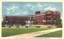 med100217 - St. Joseph Sanatorium & Hospital, Albuquerque, NM Medical Hospital, Sanitarium Postcard Postcards