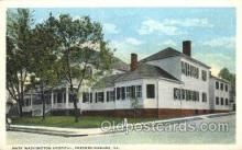 med100219 - Mary Washington Hospital, Fredericksburg, VA Medical Hospital, Sanitarium Postcard Postcards