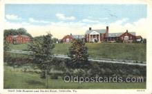med100220 - South Side Hospital and Nurses Home, Farmville, VA Medical Hospital, Sanitarium Postcard Postcards