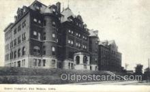 med100222 - Mercy Hospital, Des Moines, Iowa Medical Hospital, Sanitarium Postcard Postcards
