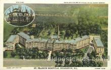med100225 - St. Francis Hospital, Evenston, IL Medical Hospital, Sanitarium Postcard Postcards