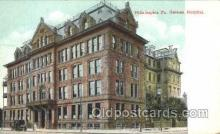 med100228 - German Hospital, Philadelphia, PA Medical Hospital, Sanitarium Postcard Postcards