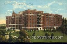 med100234 - Sacred Heart Hospital, Spokane, WA Medical Hospital, Sanitarium Postcard Postcards