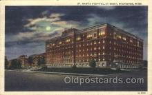 med100246 - St. Mary's Hospital, Rochester, MN Medical Hospital, Sanitarium Postcard Postcards