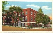 med100247 - Sommerset Community Hospital, Sommerset, PA Medical Hospital, Sanitarium Postcard Postcards