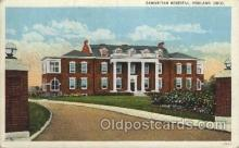med100346 - Samaritan Hospital, Ohio, USA Hospital, Hospitals Postcard Postcards
