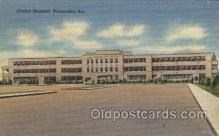 med100361 - Charity Hospital, Alexandria, La, USA Hospital, Hospitals Postcard Postcards
