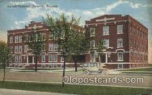 med100369 - Axtell Hospital, Newton, Kansas, USA Hospital, Hospitals Postcard Postcards