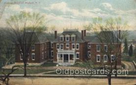 med100370 - Hudson Hospital, Hudson, N.Y., USA Hospital, Hospitals Postcard Postcards