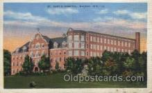 med100376 - St. Mary's Hospital, Rochester, Minn, USA Hospital, Hospitals Postcard Postcards