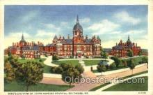 med100485 - Johns Hopkins Hospital Baltimore, MD, USA Postcard Post Cards Old Vintage Antique