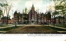 med100487 - Harper Hospital Detroit, MI, USA Postcard Post Cards Old Vintage Antique